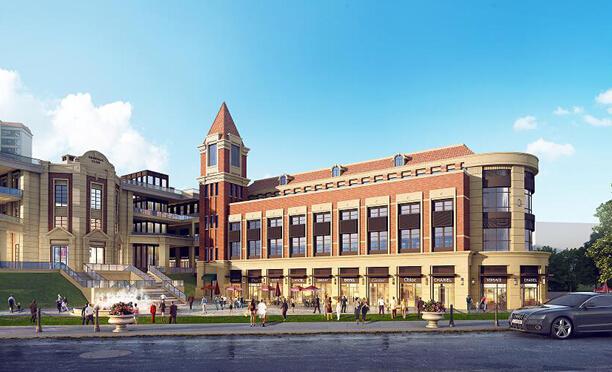 岷东新区人气尽聚于冠城学府,强大的人气就是强大的商气,其商业图片