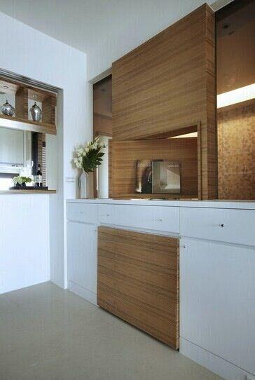 木工餐厅柜子效果图